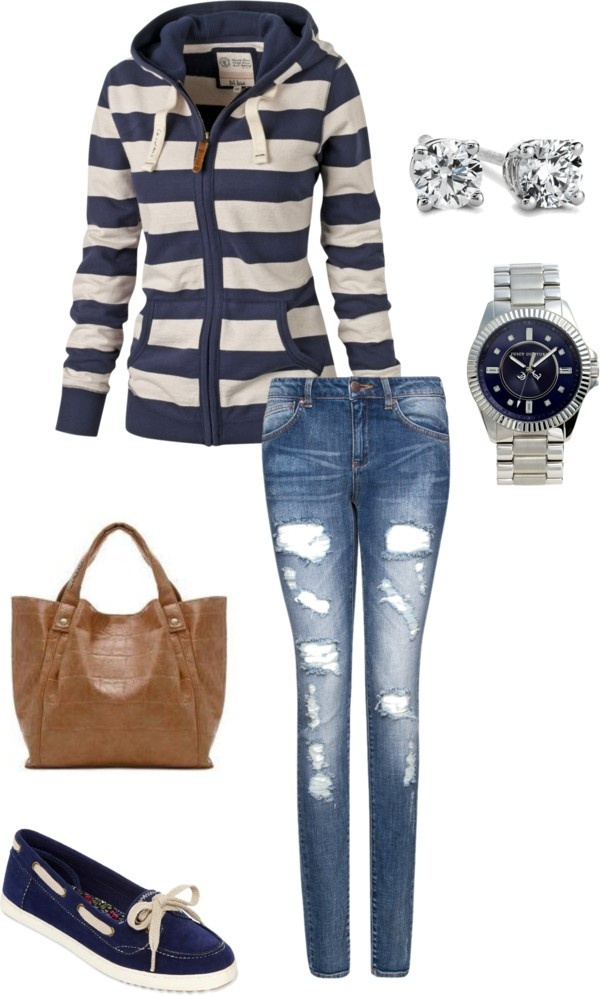 """College Girl"" by caitlynranae on Polyvore"