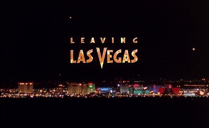 Leaving Las Vegas Blu-ray - Nicolas Cage Elisabeth Shue