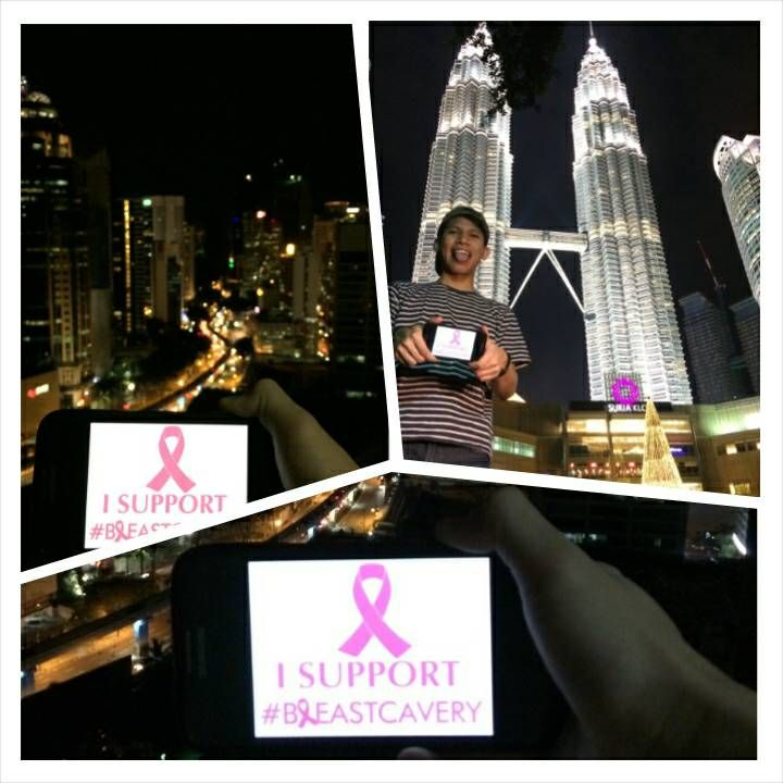 Dwiki support #breastcavery and spread about breast cancer awareness in Malaysia