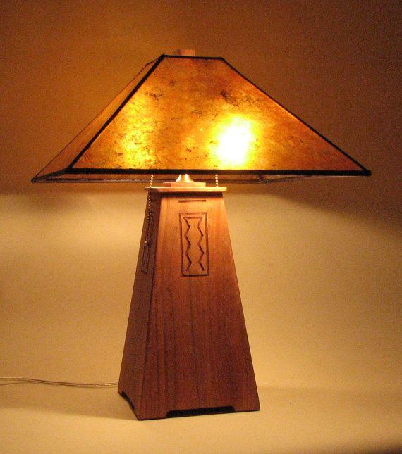 1000 images about craftsman bedside lamps on pinterest for Modern craftsman lighting