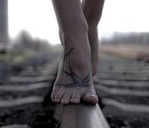 Except that I'm not getting a tat on my foot, I love this!
