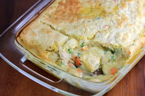 chicken pot pie bake