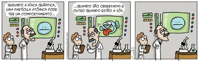 Física quântica.