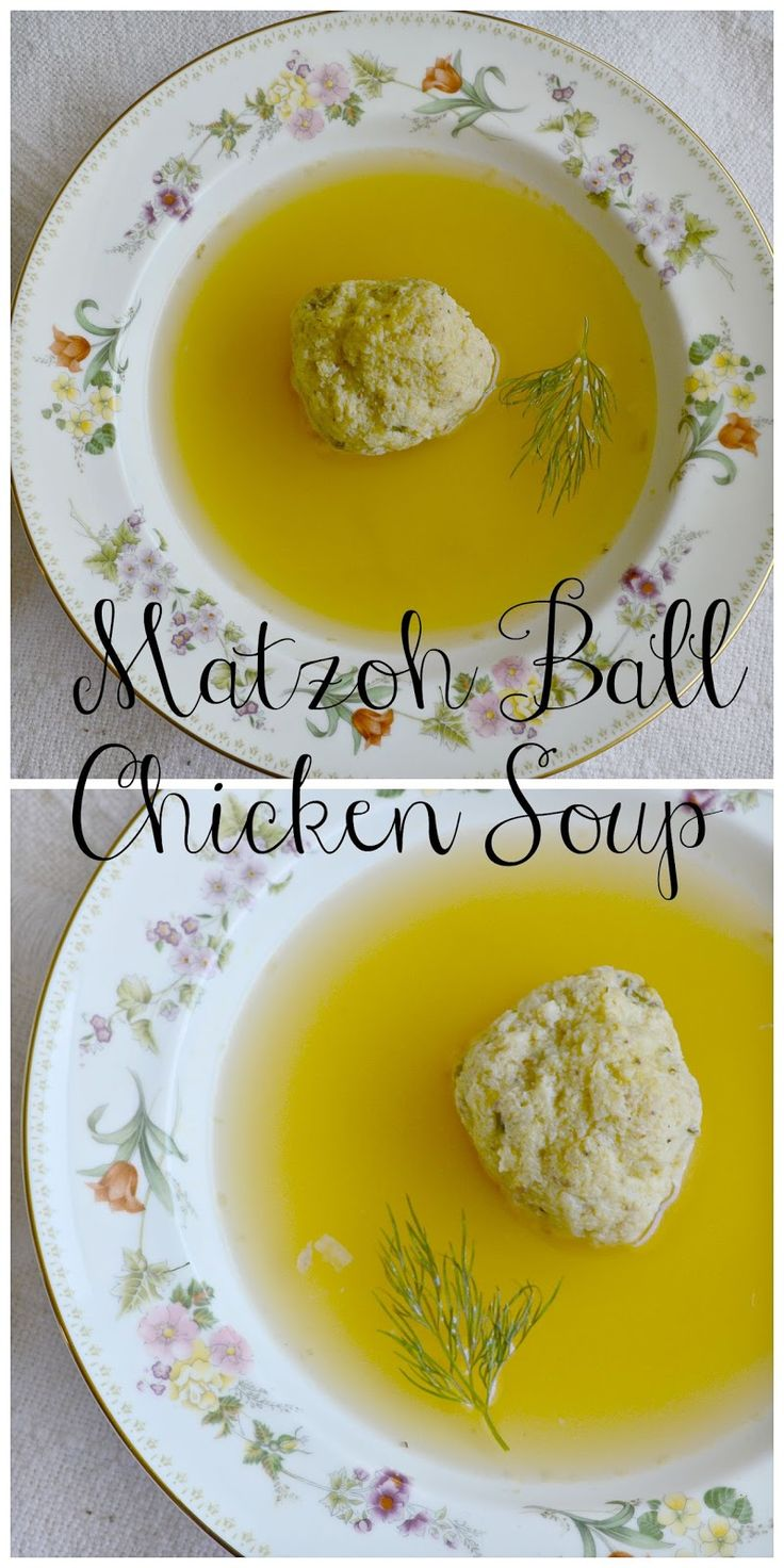 There is nothing like chicken soup and a good matzoh ball. Cures whatever ails you!