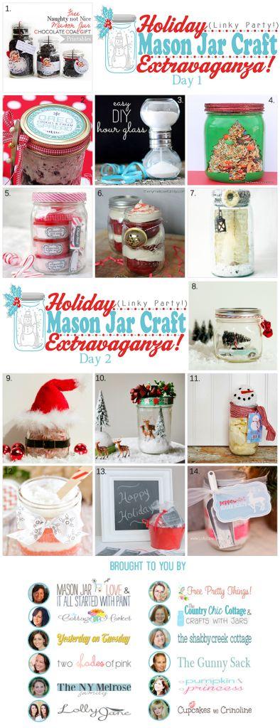 Holiday Mason Jar Craft Extravaganza PartyJars Gift, Christmas Crafts, Jars Crafts, Gift Ideas, Mason Jar Crafts, Holiday Crafts, Mason Jars, 650 1 688 Pixel, Holiday Mason