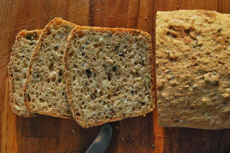Gospodyni Miejska: Chleb z mąki krupczatki