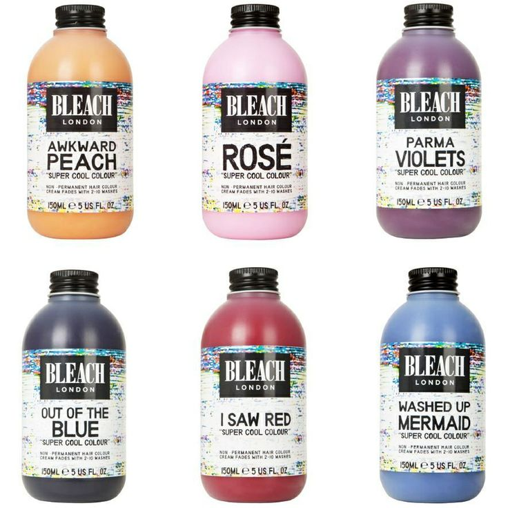It's offically now on my bucket list to try the Rose' & Parma Violets for dip dye effect xx  Bleach London
