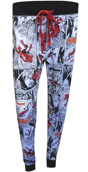Marvel Comics Ladies Spiderman Lounge Pants