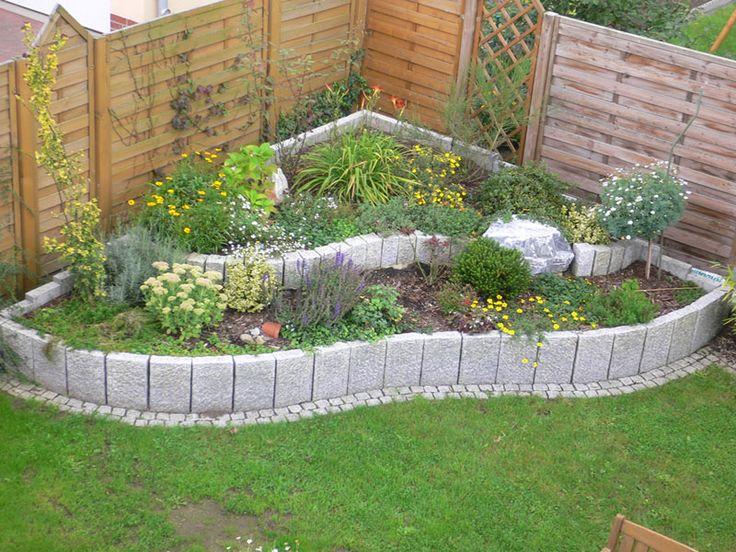 73 best images about garten on pinterest diy grill sandbox and hanging succulents - Gartengestaltung mit granitsteinen ...