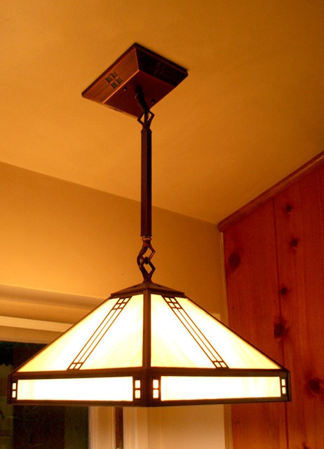 81 best craftsman arts and crafts style images on for Modern craftsman lighting