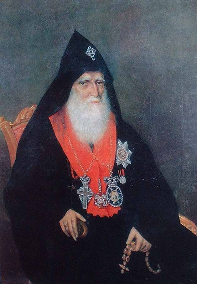 Портрет Нерсеса Аштаракеци.А.Овнатанян - Հակոբ Մկրտումի Հովնաթանյան - Վիքիպեդիա՝ ազատ հանրագիտարան
