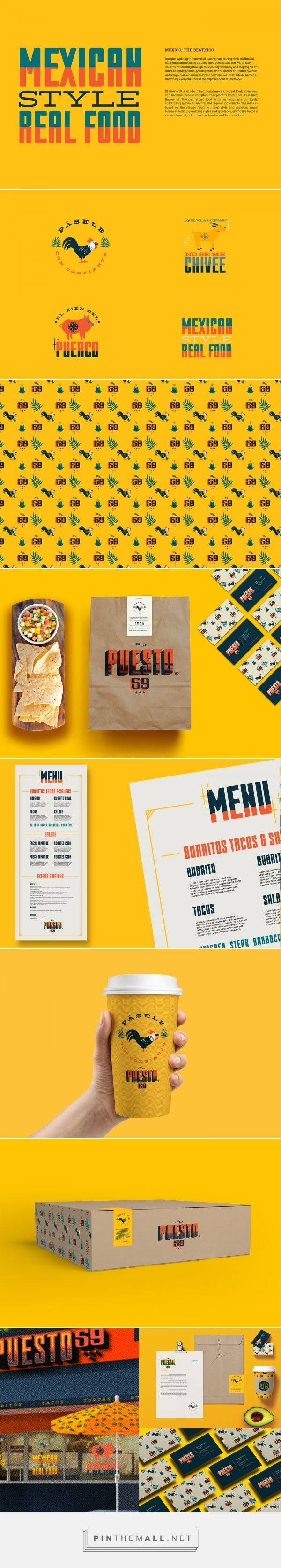 Pásele con confianza Authentic Mexican Street Food Branding by Jaime Espinoza   Fivestar Branding Agency – Design and Branding Agency & Curated Inspiration Gallery