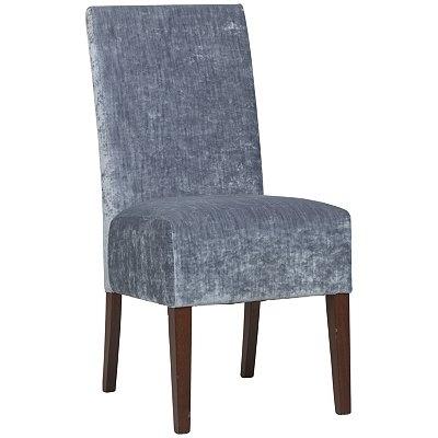 John Lewis Heather Dining Chair, Modena Slate / Dark Oak
