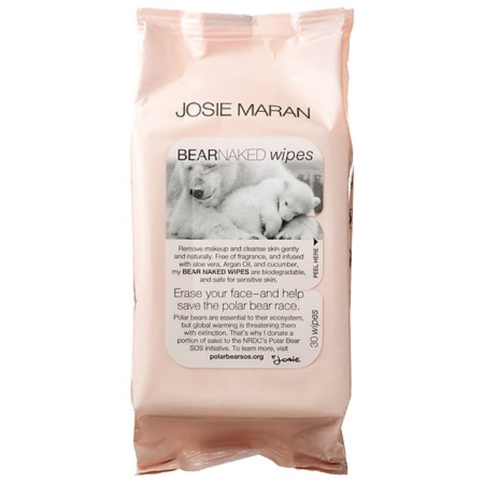 The Ten Best Facial Cleansing Cloths // #7 Josie Maran Bear Naked Wipes