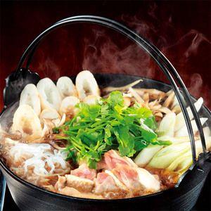 旨みいっぱいのスープで本場のきりたんぽ鍋を。【比内地鶏きりたんぽ鍋】