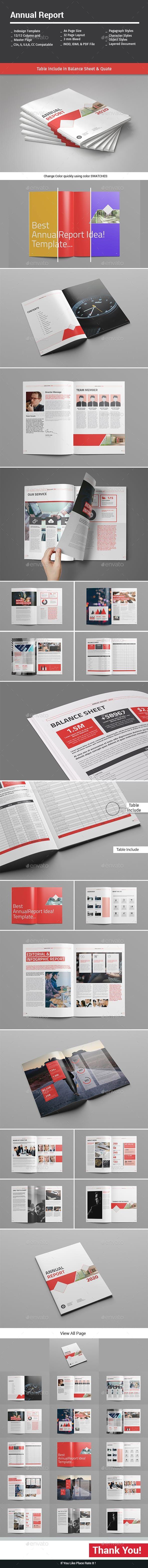 Annual Report by alimran10   GraphicRiver   Annual report ...