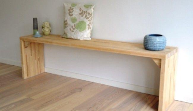 Se hvordan du bygger en raffineret bænk af én Scandiwood bordplade, med den enkle trin-for-trin vejledning. Læs artiklen her!