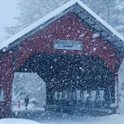 Stowe, VT -- channelling my inner (and no where to be found) skier, heading here for Christmas this year!