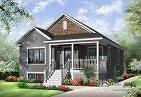 Plan de Maison unifamiliale W3126