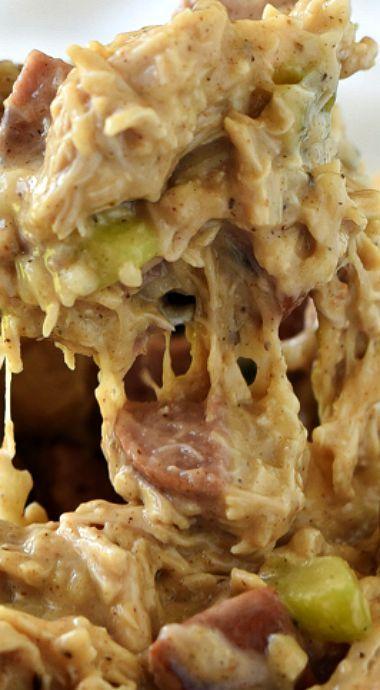 Creamy Cajun Chickn Lasagna