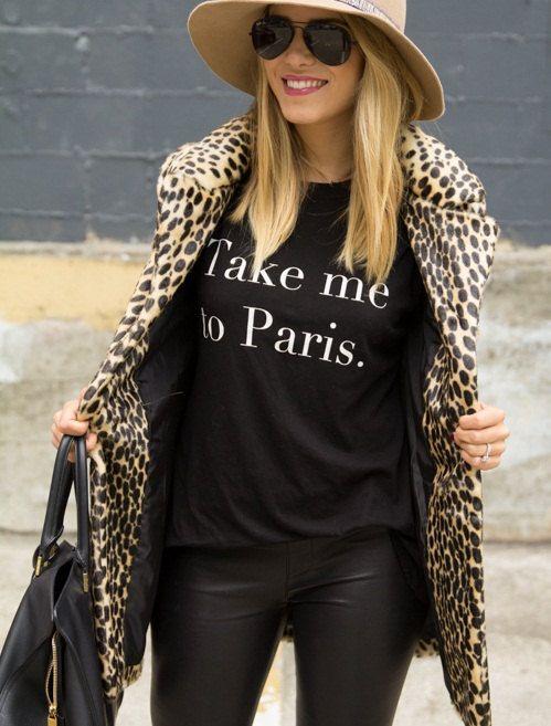 Take Me To Paris T-shirt , fashion blogger t-shirt , fashion tee , womens tee