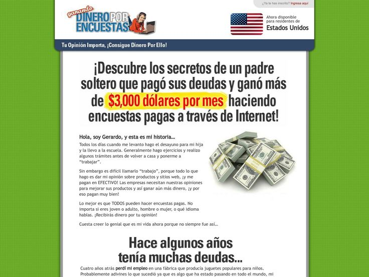 Ganando Dinero Por Encuestas - Spanish Version Of Getcashforsurveys! - http://www.vnulab.be/lab-review/ganando-dinero-por-encuestas-spanish-version-of-getcashforsurveys-2