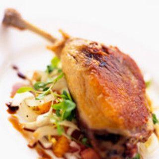 Cuisses de canard confites, facile : recette sur Cuisine Actuelle