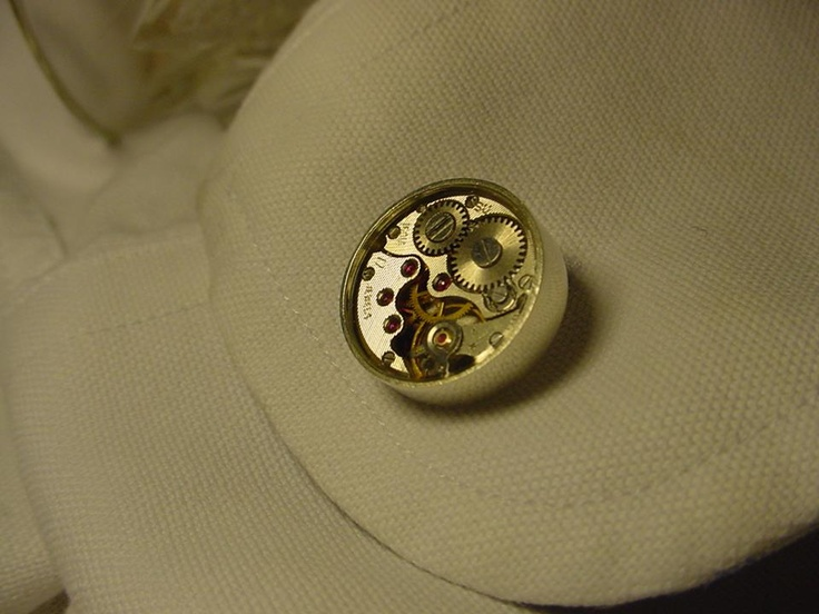 Our cufflinks for watch fans ...