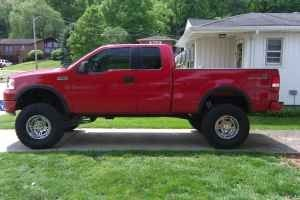 """Ford F-150 Lifted   2005 FORD F150 FX4 LIFTED 8"""" (BARBOURSVILLE,WV) for Sale in Huntington ..."""