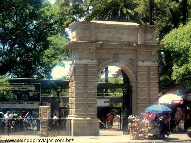 Portal entrada Zoo / Buenos Aires / Argentina - Maio 2015