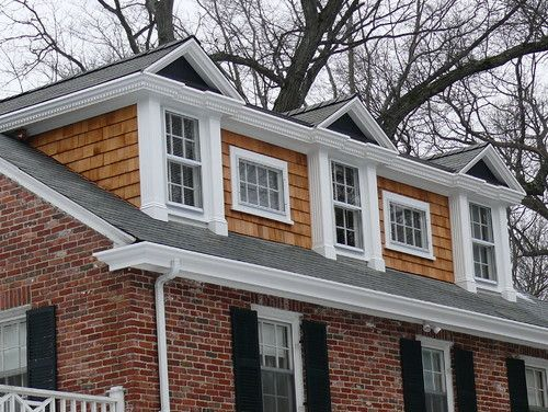 13 best dormers images on pinterest wood shed - Dormer window house plans extra personality ...
