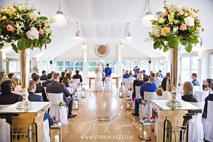 Spring civil ceremony at Wasing Park #GardenRoom #bride #groom