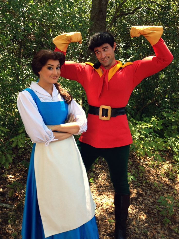 Best In Love With Gaston Images On Pinterest Back To - Mother makes daughters dreams come true incredible disney costumes