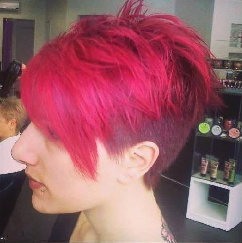 Hate the color and shave but like the overall direction of the cut