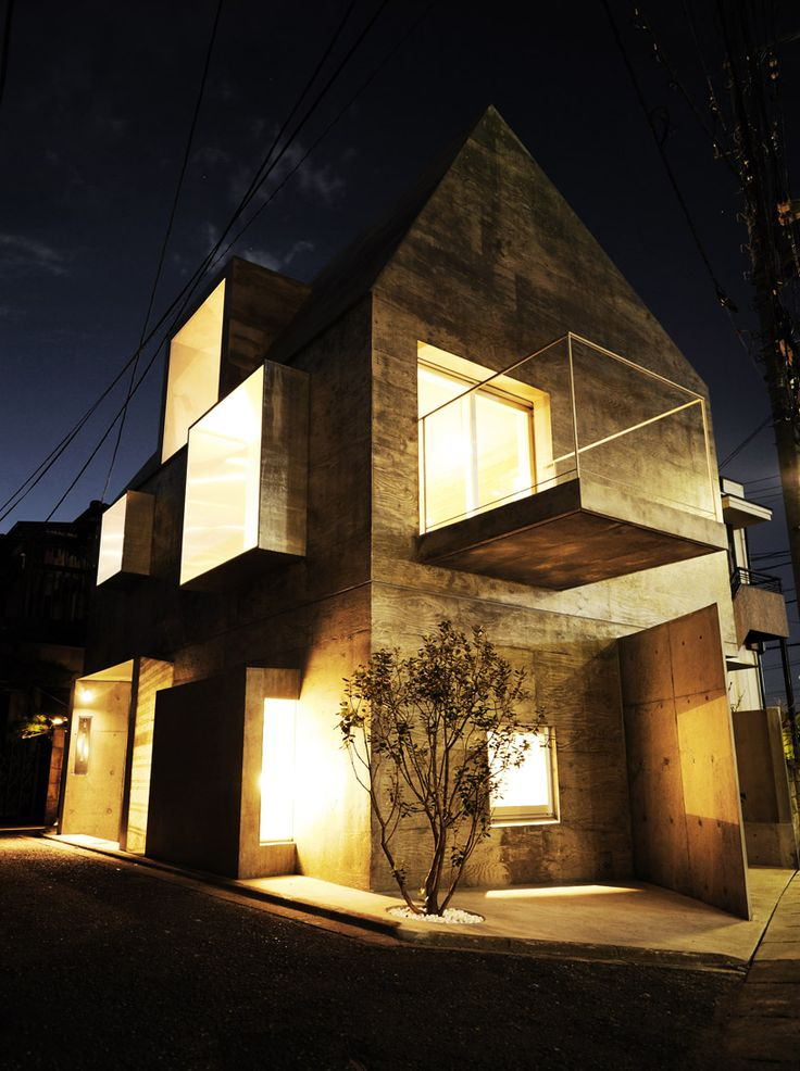 'FKI house' by urban architecture office, tokyo, japan