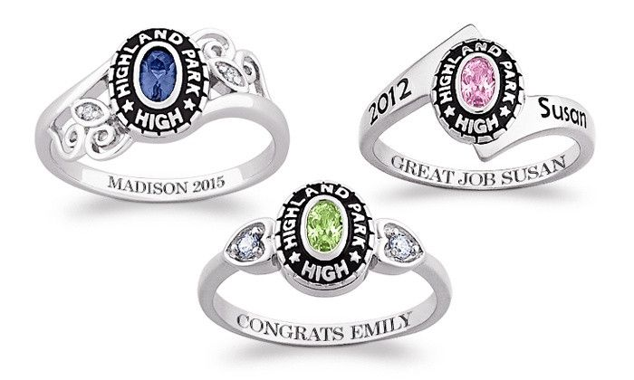 $59 for a Personalized Women's Class Ring from Limogés Jewelry