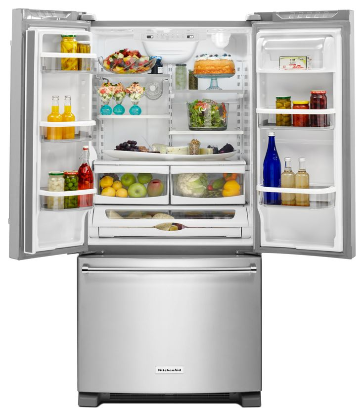 Shop Kitchenaid 21 9 Cu Ft Counter Depth French Door: 1000+ Ideas About French Door Refrigerator On Pinterest