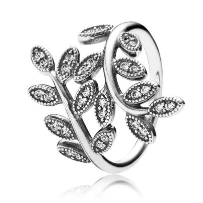Pandora Leaf Wrap Ring 190921CZ. Introducing the Pandora Leaf Wrap Ring from the PANDORA Autumn 2014 Collection. The elegant leaf wrap design is crafted from quality Pandora sterling silver. The Pandora ring is an excellent representation of the Autumn season.
