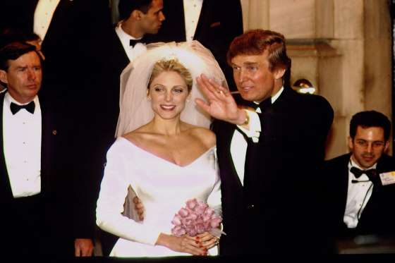 Donald Trump and Marla Maples - John Van Hasselt/Sygma/Corbis