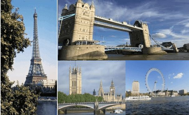 Cheapest Flights from London to Paris     Airline One Way Round-Trip  United Airlines $1,930 $2,183  American Airlines $106 $193  Luft... #cheapestflights