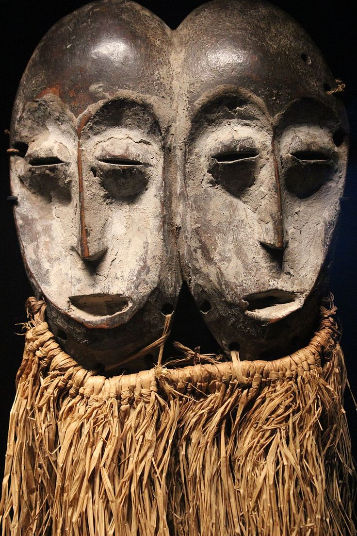 masque africain livre