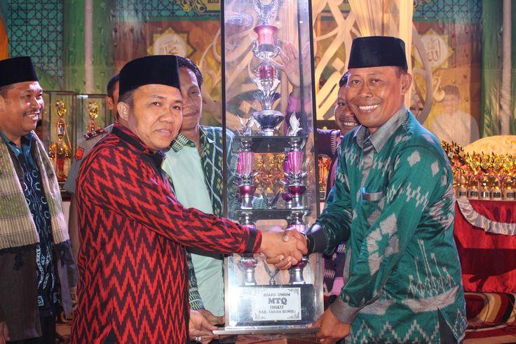 Mahayani Sukses Raih Juara Umum MTQ Tingkat Kabupaten