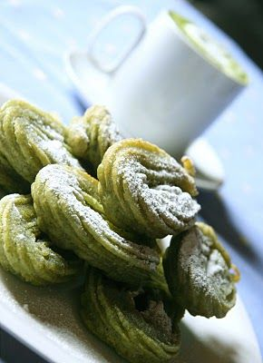 Churros de Matcha