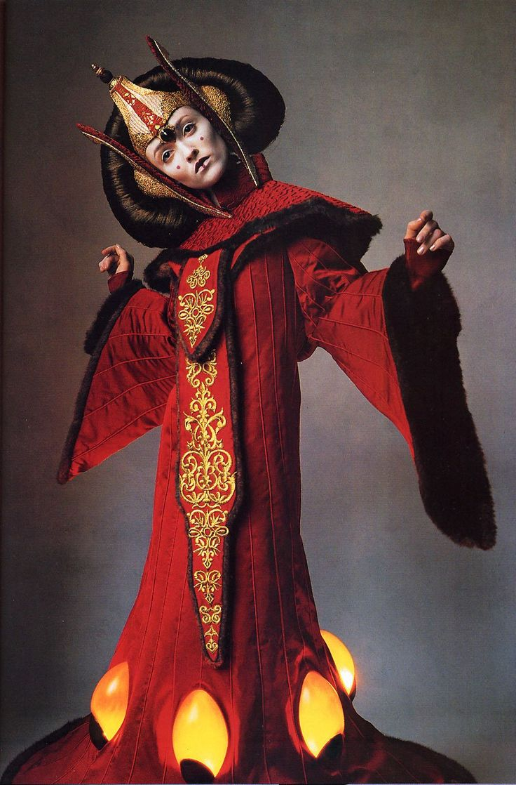 41 best images about costuming for queen podme amadala on - Princesse amidala star wars ...