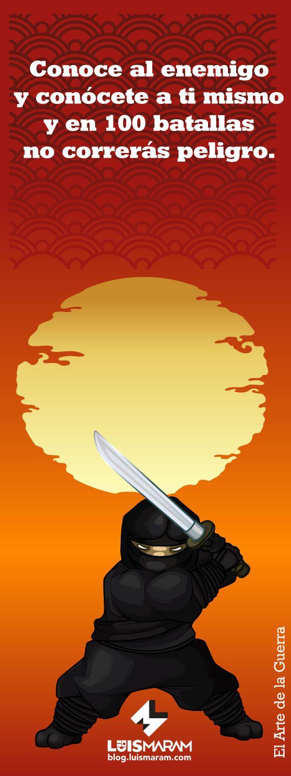 Frase de Marketing Estratégico salida de El Arte de la Guerra. Ve todas en: http://blog.luismaram.com/2014/04/30/marketing-estrategico-10-frases-de-el-arte-de-la-guerra/