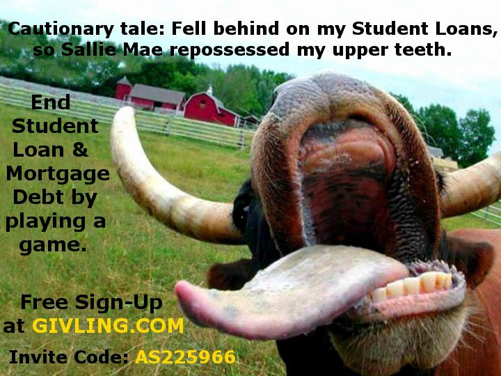 Barely any scarring! Givling.com Invite Code: AS225966 #givlingcode #studentloans #loans #mortgage #studentdebt #debt #crowdfunding #trivia #cows #farm #mobileapp #agriculture #cattle #dentist #betsydevos #bulls #teeth #tongue #salliemae #navient #greatlakes