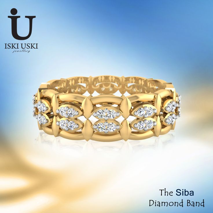 Diamond Bands for all Occasion with Latest Designs 2016.. Buy Diamond Gold Bands Online for Best Prices in India   #bandrings #goldband #diamondband