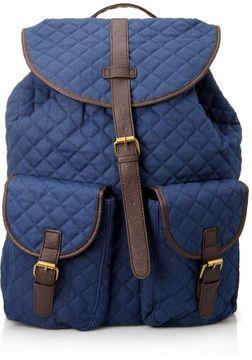 21 MEN Quilted Backpack on shopstyle.com