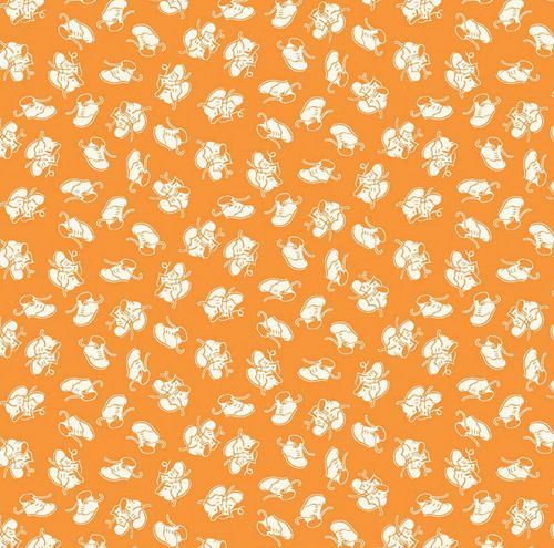 Toy Chest - Baby Shoes Orange