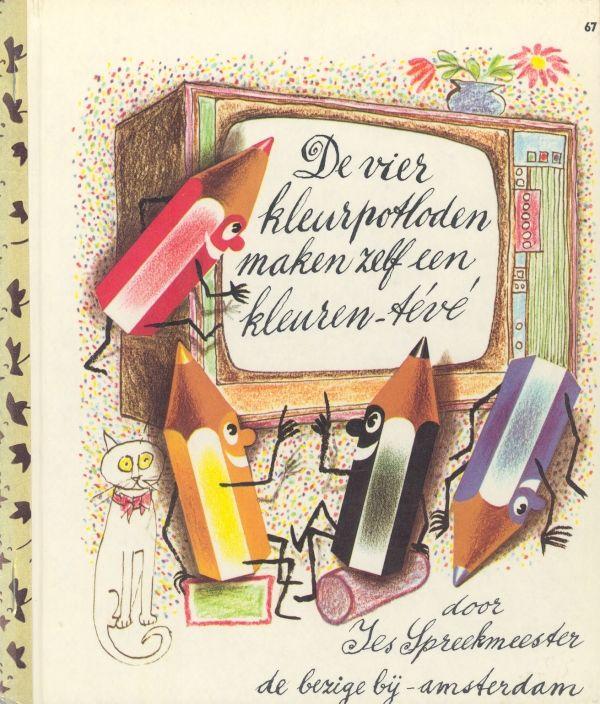 67. De vier kleurpotloodjes... 1972
